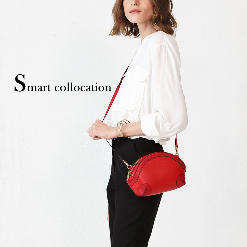 The new fashionable Korean version of the 2009 Seashell lady bag with sloping bag, cowhide Mini-Bag and lady bag with one shoulder bag