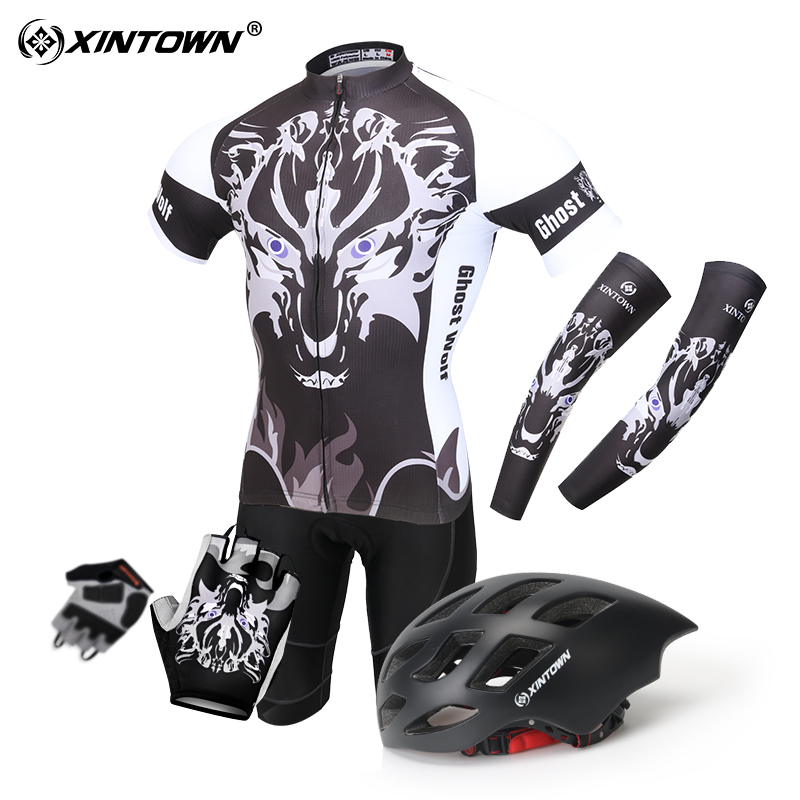 Summer Jersey Short Sleeve Set Men and women XL Mountain Bike Shorts Equipment Bicycle Clothing Quick-drying suit