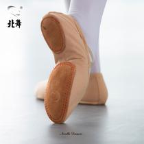 Nord de danse adulte chaussures de danse femmes fond mou Formation Chaussures corps Chat Griffe chaussures de danse grand fond du ventre ethnique ballet chaussures