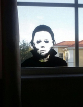 Halloween Holiday Decals Michael Myers Horror Living Room St