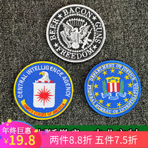 Embroidery Velcro chapter United States President desk FBI badge armband camouflage uniforms flying tactical clothing stickers