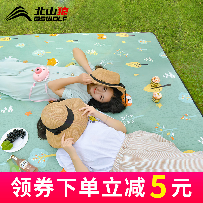 Picnic mat thickened outdoor field tent mat outing spring picnic portable mat lawn waterproof moisture-proof mat