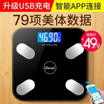 Умные весы жировых отложений поручая раздел Электронные весы домочадца точные небольшие весы веса с мобильным телефоном для того чтобы измерить вес тела жировых отложений