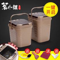 Tea bucket Tea residue bucket Garbage filter drainage bucket Large capacity tea table waste water bucket Tea accessories Household small tea bucket