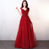 Red Pregnant women winter party self-cultivation Korean version of the toast clothing