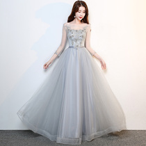 The spring bridesmaid dress of the annual meeting of Slim and Slim catering Company