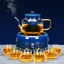 Tea maker brewing teapot net red electric pottery stove fully automatic steaming teapot glass tea set home brewing tea stove