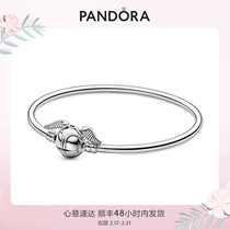 (New)Pandora Official Website PandoraMoments Harry Potter series gold cat burglar chain clasp bracelet
