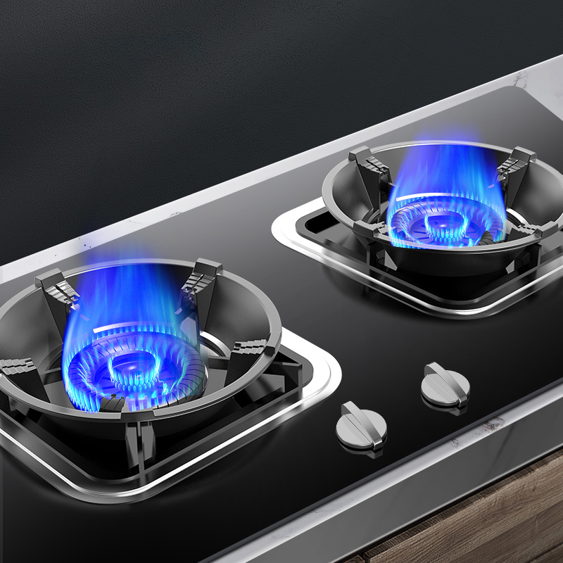 Cast iron gas stove wind shield household gas stove table fire energy-saving ring universal anti-slip bracket wind shelf