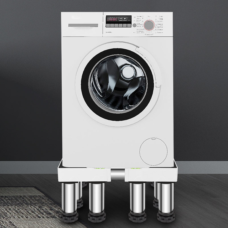 The washing machine base is heightened by the universal booster carrier fully automatic drum washing machine holder shock-proof silent device shelf