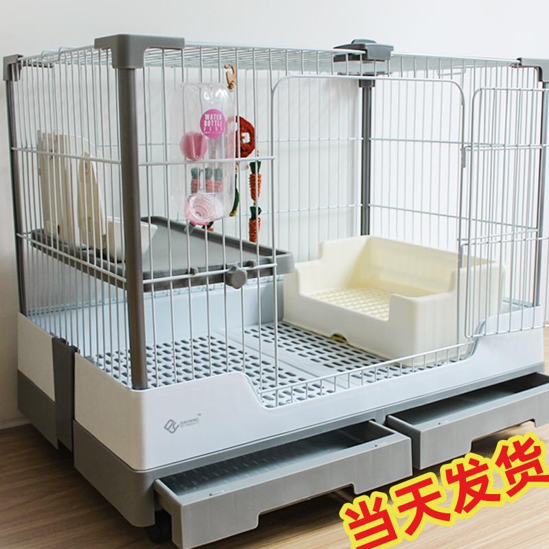 Dayang кролик клетки R81 двойной ящик анти-распыления мочи кролика клетки дома с очень большим кроликом голландских свиней автоматической очистки навоза клетки