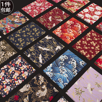 Wind bronzing cotton cloth Japanese-style cloth cotton cloth clothing qipao Han clothing fabric clearance