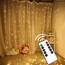 Su Cai LED curtain ice strip lights small lights flashing lights string lights Starlight string holiday room bedroom decoration