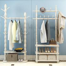 Вешалка для одежды из массива дерева вешалка для пола спальня вешалка в европейском стиле Прихожая вешалка для одежды гостиная вешалка современная минималистская вешалка для одежды
