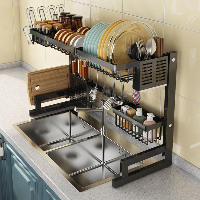 Стойка для чаши Сливная стойка Кухонная стойка раковина для чаши выдвижная многофункциональная стойка для хранения Бассейн Daquan принадлежности бытовые