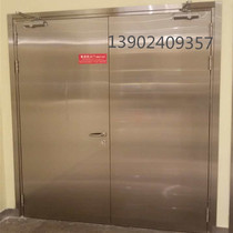 304 stainless steel grade B fire door factory price direct fire door package acceptance cinema shopping mall hotel glass