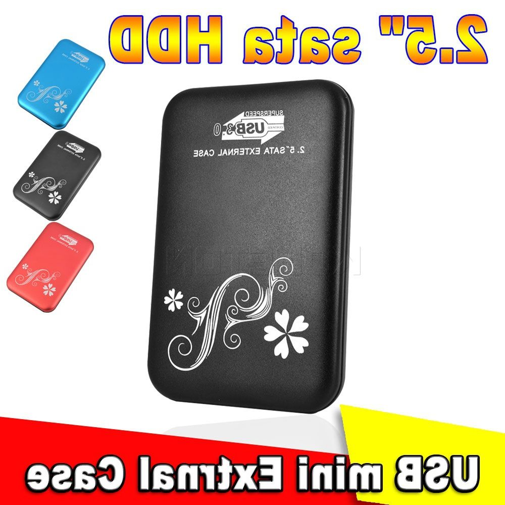 "2.5 hard drive, High speed Metal 2.5"" 2.5 inch USB 3.0 HDD Case Hard Drive D"