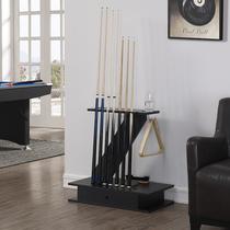 Billardsupplies Table club rack 8 trous Table club affichage cadre plancher-type étagère club avec cadre de type tiroir