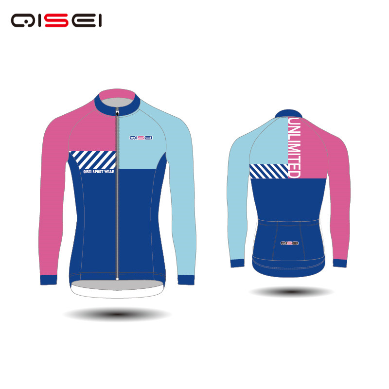 Qisei 2018 New Cycling Suit Speed Skating Suit Club Suit Customized Factory Direct Selling