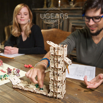 Ukrainian ugears Ugtaro table games box around the wooden mechanical transmission model put together toy gifts