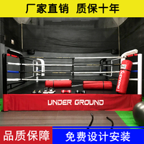 Boxing ring fight game octagonal cage fitness training Sanda Table comprehensive fighting cage standard landing MMA