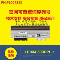 Zebra Zebra 110XI4 600dpi point new original barcode label printhead P1004233 Special Offer