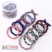 Rubber band hair circle female Korean cute simple head rope small fresh leather case 2021 new hair rope tie hair ponytail
