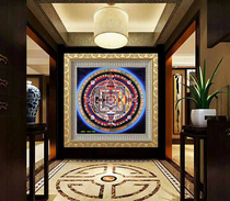 Xizang Thangka Painting City ShiLun King Kong Town house hand-painted meter living room porch decorative painting large size