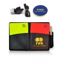 Football referee red and yellow card competition sidelobe referee special whistle suit Professional Referee equipment
