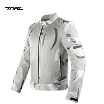TNAC Topchi bat motorcycle summer riding clothing for men and women mesh reflective drop-proof breathable motorcycle racing jacket