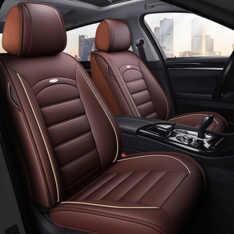 Corolla all-inclusive seat cover leather large surrounds the Kai Yue Yinglang Regency Regency Regency more applicable wash-resistant dirty car cushions