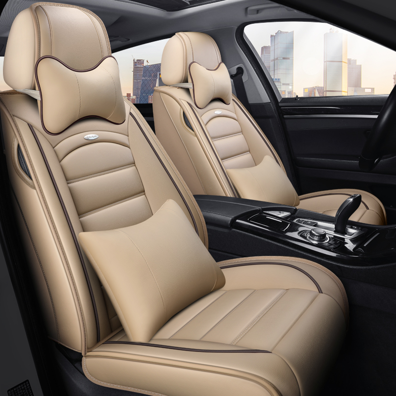 2018 model 1.2t GM Corolla Rey Ling double dynamo car seat cover leather all-inclusive special cushion 17 models