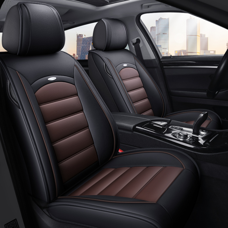 Dongfengs new Qichen T90 D50 R50 T70X Morning Wind leather car seat cushions are fully enclosed around the Four Seasons seat cover
