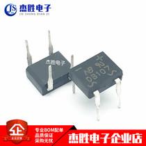 New (original in-line) bridge stack DB107 rectifier bridge DIP-4 1A1000V large chip quality assurance