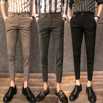 The British 9-cent Korean version of the trend pants
