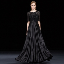 Simple and generous dress women new style of skinny, noble and elegant chorus conductor performance evening dress skirt long style