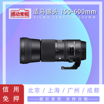 Shima Sigma lens rental 150-600mm C version EF card port anti-shake long-focus concert hit birds.