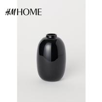 HM 家居用品摆件2020新款 家用北欧风简约小号玻璃花瓶 0692567