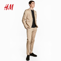 H & M mens in 2018 new spring skinny trousers HM0651649