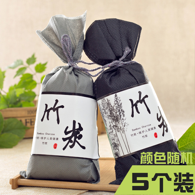 Bamboo Charcoal Bag Deodorizing and Formaldehyde Removal Activated Carbon New House Deodorizing Articles Carbon Bag Furniture Household Decoration and Formaldehyde Absorbing Household