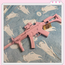 Pack U sweet sniper is actually a rifle pink Lolita addiction girl heart Harajuku wind cool sweet girl