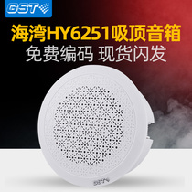 Bay HY6251 Fire Broadcast Ceiling Speaker New indoor wall-mounted speaker 3W horn embedded