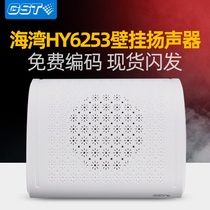 Bay HY6253 fire broadcast wall-mounted speakers New indoor wall-mounted speaker amplifier horn embedded