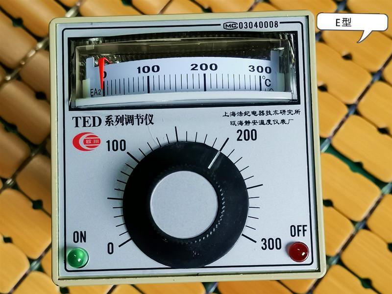 TED series regulator Ohchuan temperature control table Bohai Jingan temperature meter factory sealing machine temperature controller