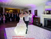 Twinkling starlit dance floor for wedding party светодиодные