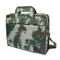 Field computer as a training package jungle Digital Camouflage Document Package Command work package instrument single shoulder working bag
