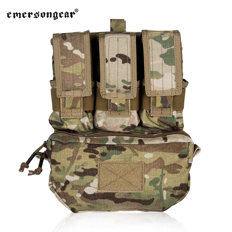 Emerson Emerson Gear gilet sac accessoire MOLLE plaque arrière
