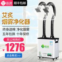 Moxibustion Smoke Purifier System in addition to smoking machine mobile household small equipment smoke exhaust machine moxibustion smoking machine