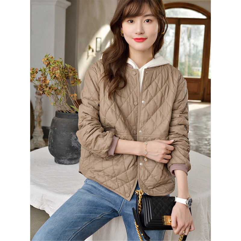 Island breeze difficult to reduce the age of the model - sheepskin baseball shirt womens early spring new Linge leather jacket jacket
