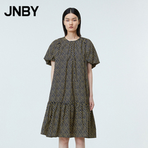 (The same as the mall)JNBY Jiangnan commoner 21 summer new dress modern retro loose 5L4512110